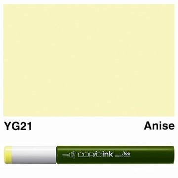Copic navul inkt YG21 LET OP: Lees omschrijving!