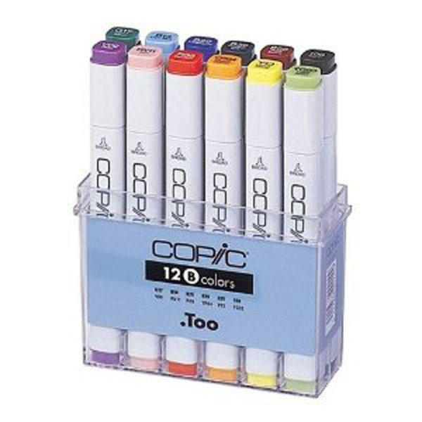 Copic markers Basis 12 kleuren Set