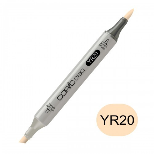 Copic Ciao marker YR20