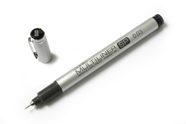 Copic Multiliner SP Zwart 0.1