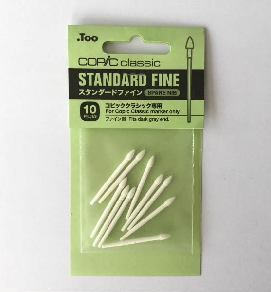 Copic Markerpunten standard Fine (10st.) Voor Copic Classic