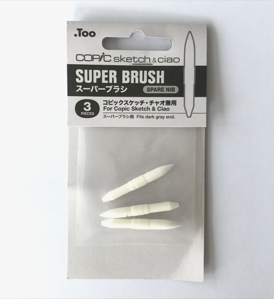 Copic Markerpunten Super Brush (3st.) Sketch en Ciao