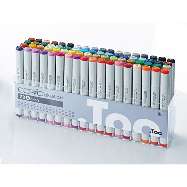COPIC sketch 72 stuks Set A
