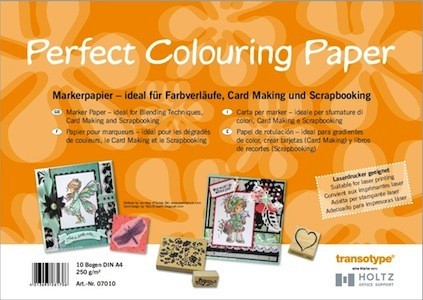 Perfect Colouring Paper A4, 10 vel 250 gram