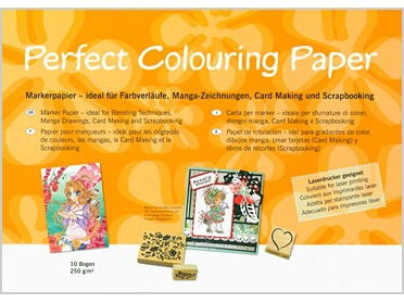 Perfect Colouring Paper A3, 10 vel 250 gram