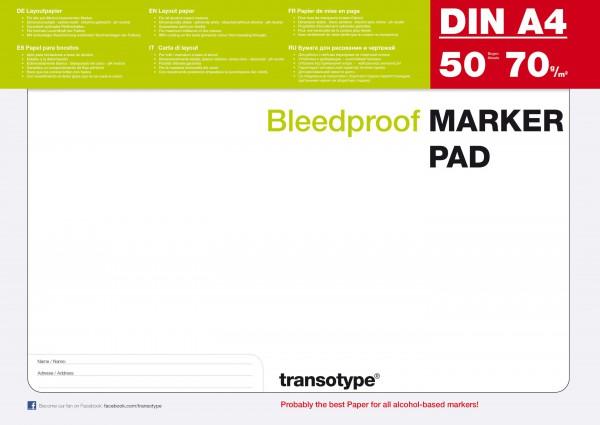 A4 Papier Copic marker blok 70G 50 vel (transotype)