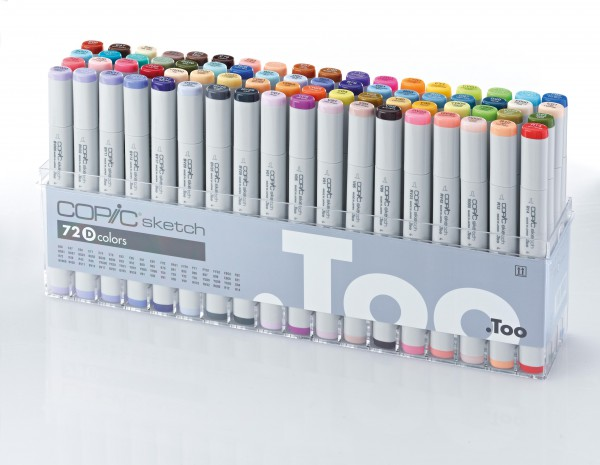 COPIC sketch 72 stuks Set D